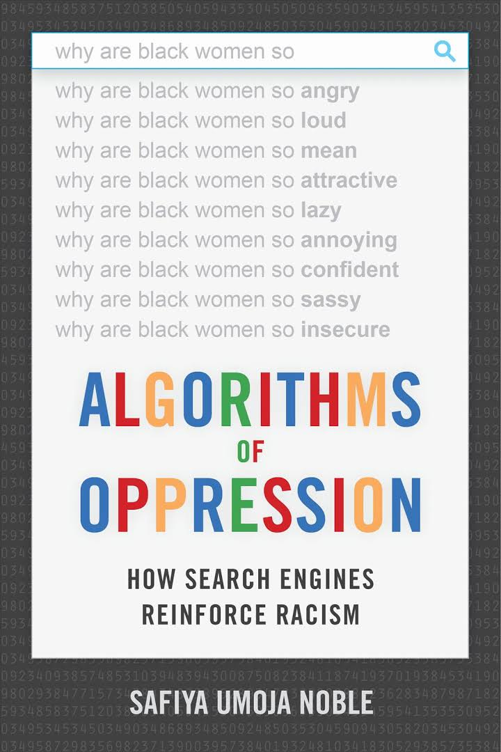 Cover of Algorithms of Opression